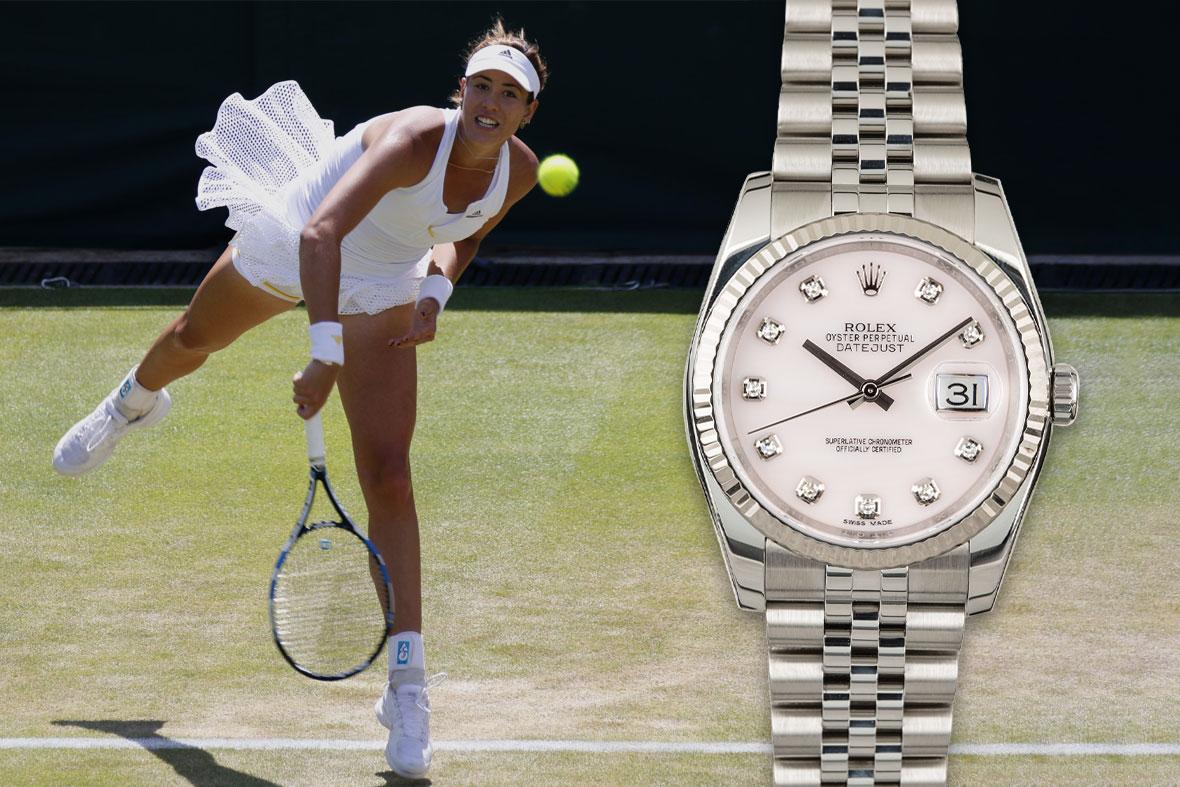 Rolex Tennis Garbine Muguruza Datejust