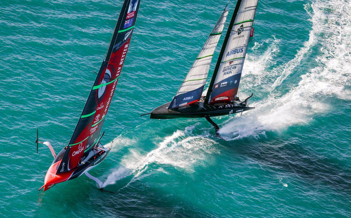 America's Cup Regatta Sailing Race