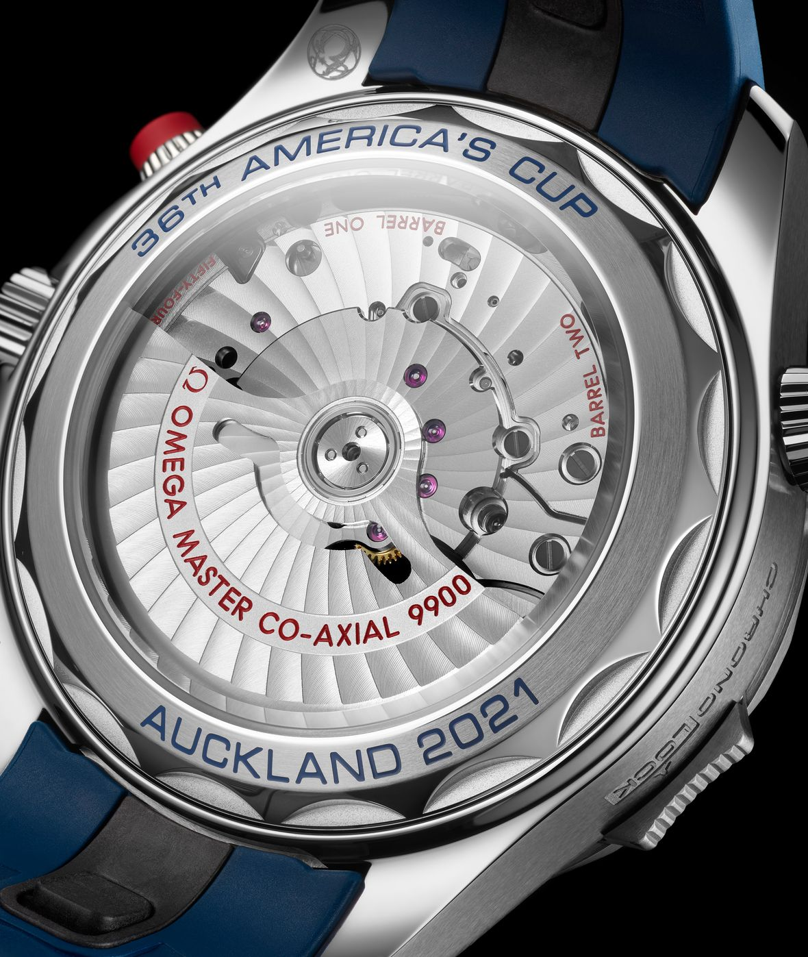 Omega Seamaster Diver 300M America's Cup Chronograph - Caliber 9900 Movement Co-Axial Master Chronometer