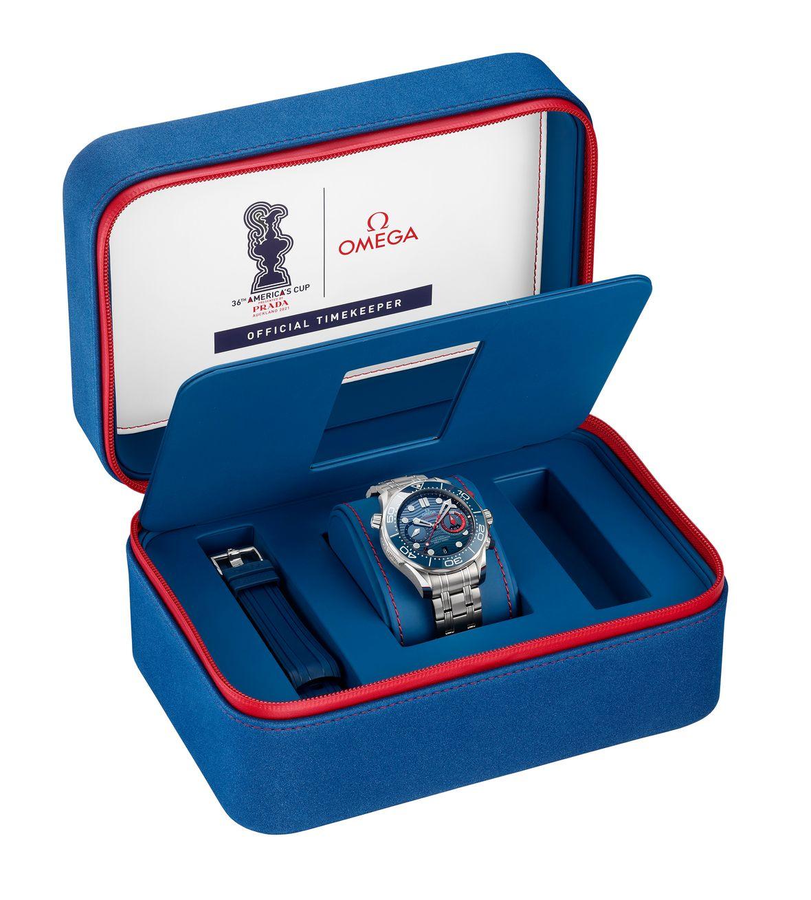 Omega Seamaster Diver 300M Chronograph America's Cup Edition - Presentation Box