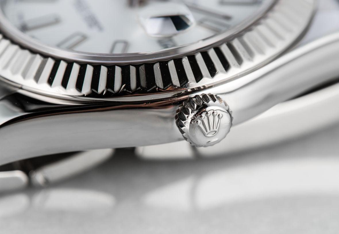 Rolex Datejust Watch Twinlock Crown