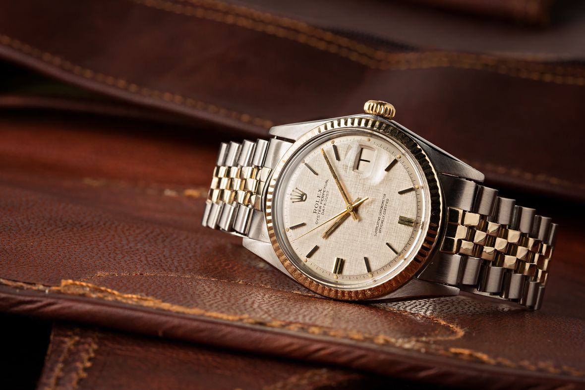 Vintage Rolex Datejust Two-Tone Watch Guide 1601
