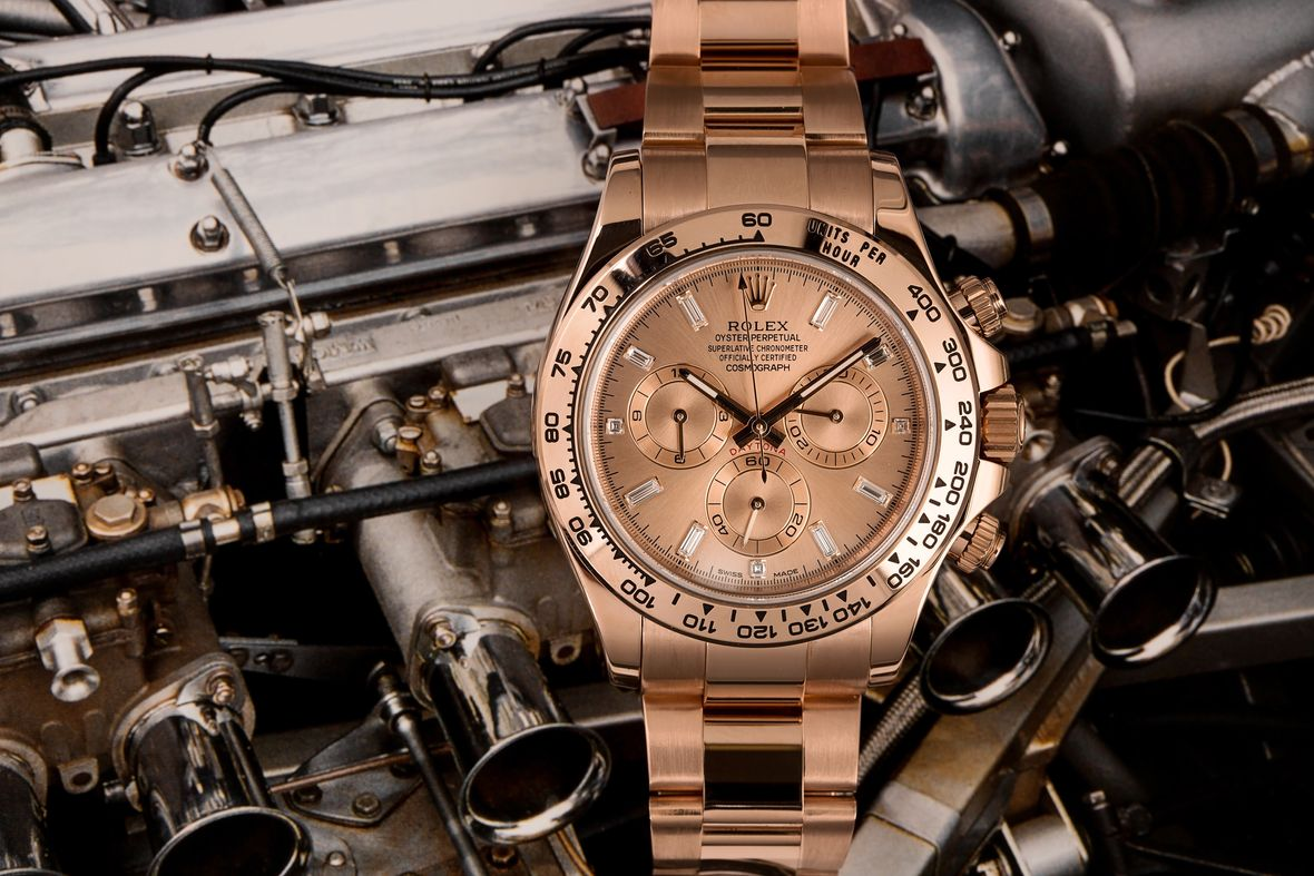 Why the Everose Gold Rolex Daytona Is So Hard to Find Diamond Dial