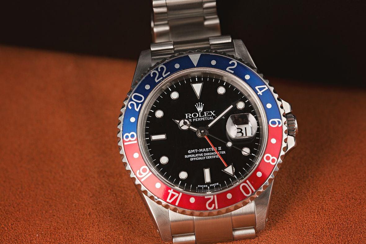 GMT Rolex Watch Meaning 16710 Pepsi Bezel