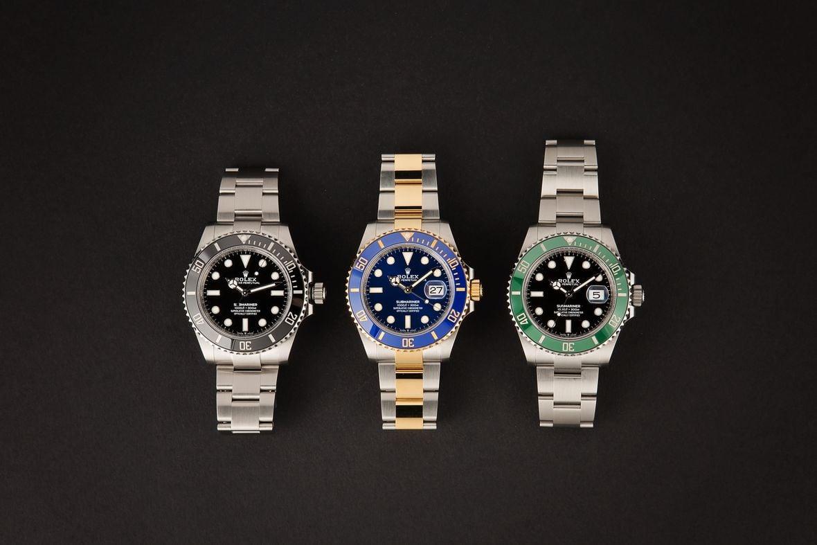 Rolex Submariner vs Sea-Dweller Dive Watches