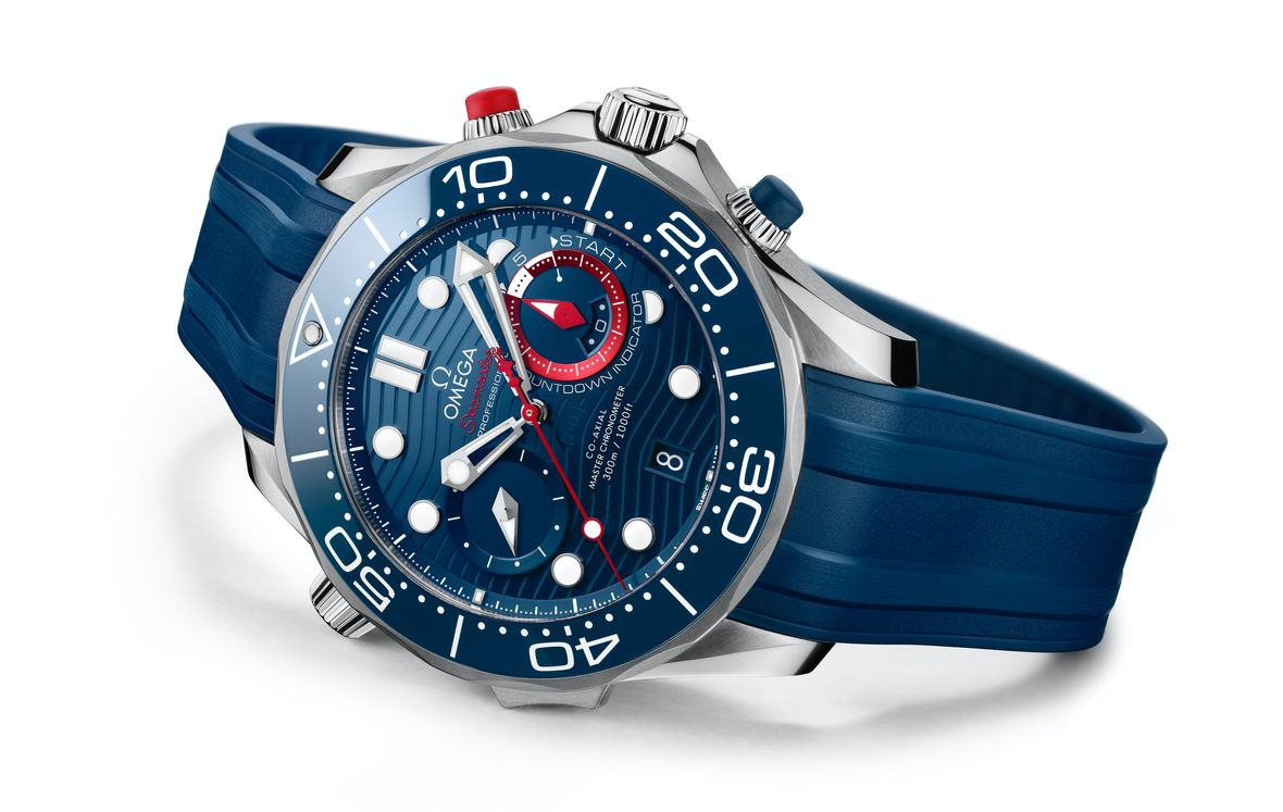 The New Omega Seamaster Diver 300M America's Cup Chronograph
