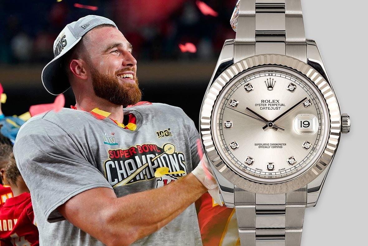 Top NFL Luxury Watches Super Bowl Rolex Datejust II 116334 Diamond Dial