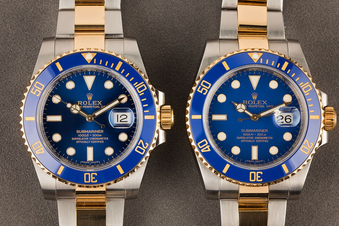 Luxury Watch Easter Eggs Rolex Submariner Blue Dial 116613LB