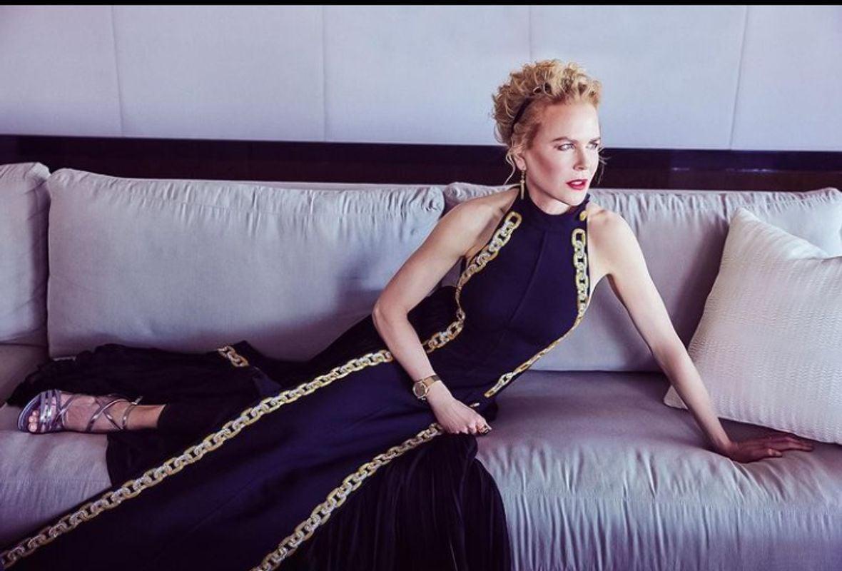 Golden Globes Nicole Kidman Omega Moonshine Gold Tresor