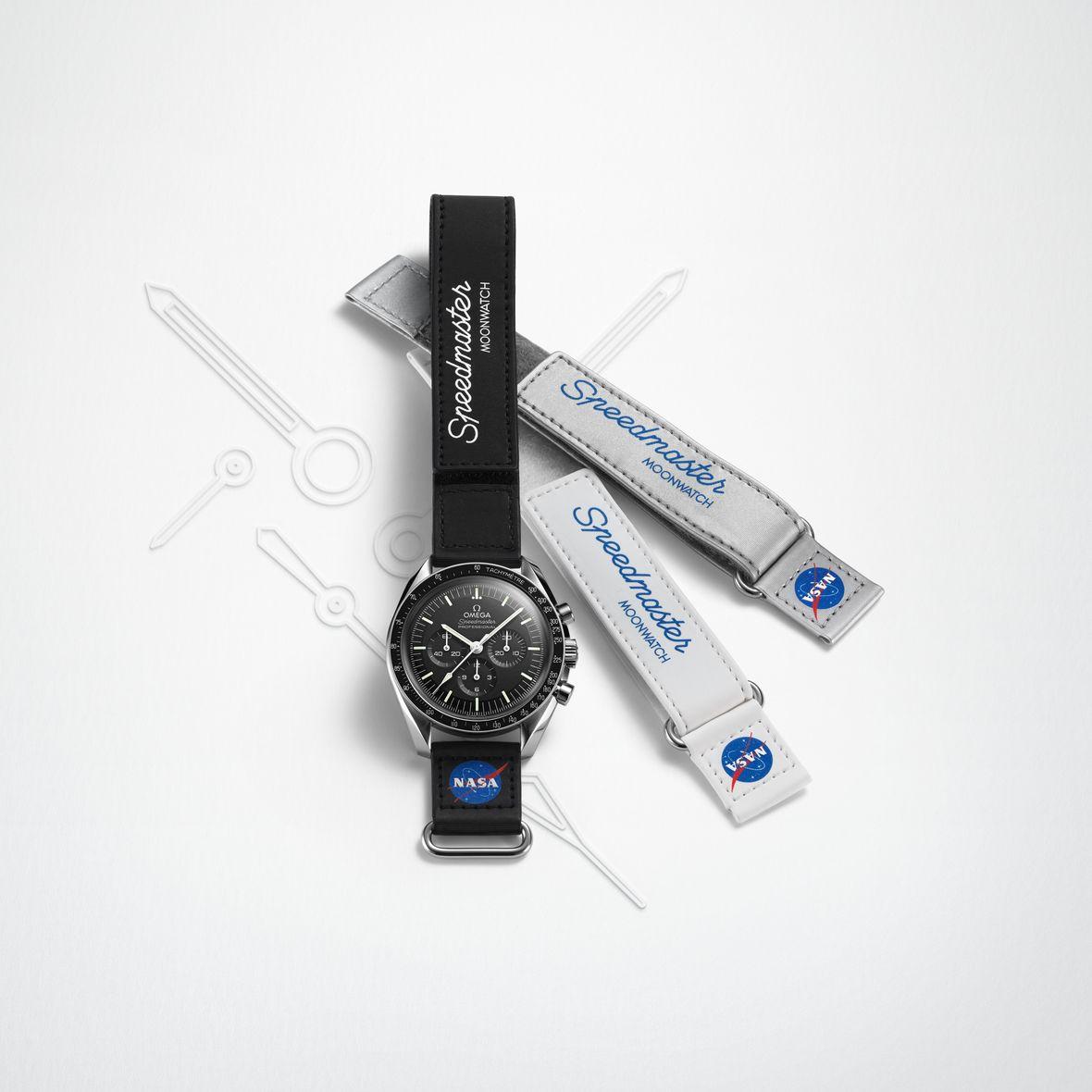 Omega Speedmaster NASA Velcro Strap