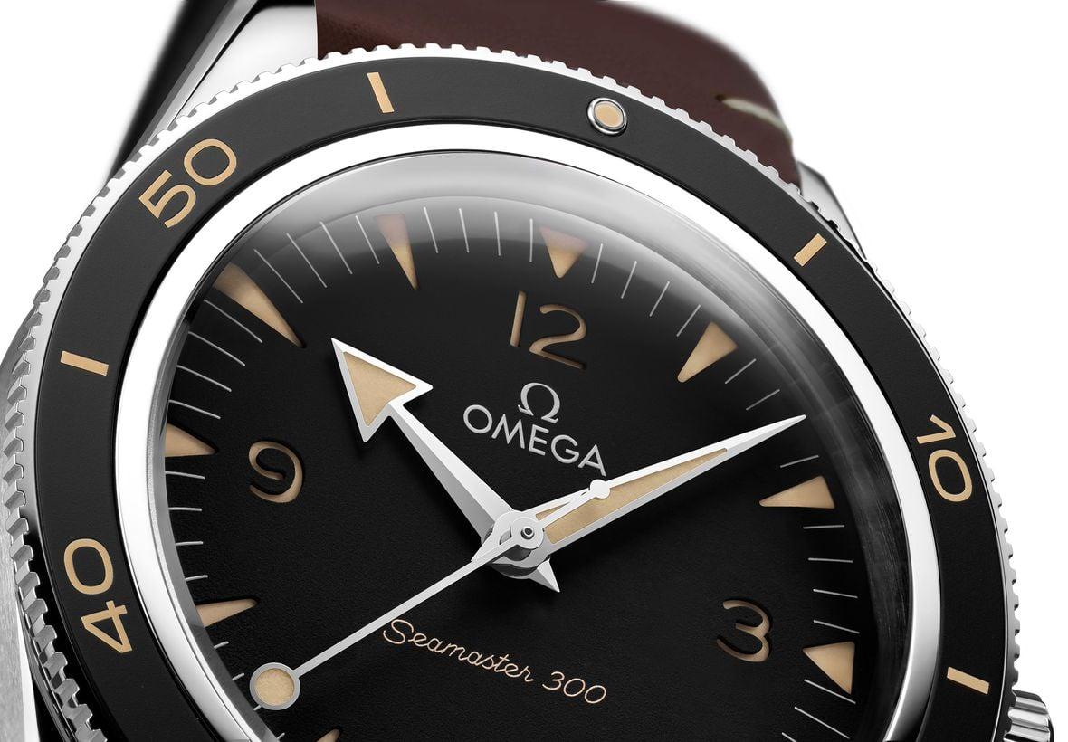 Omega Semaster Diver 300 Black Dial Stainless Steel