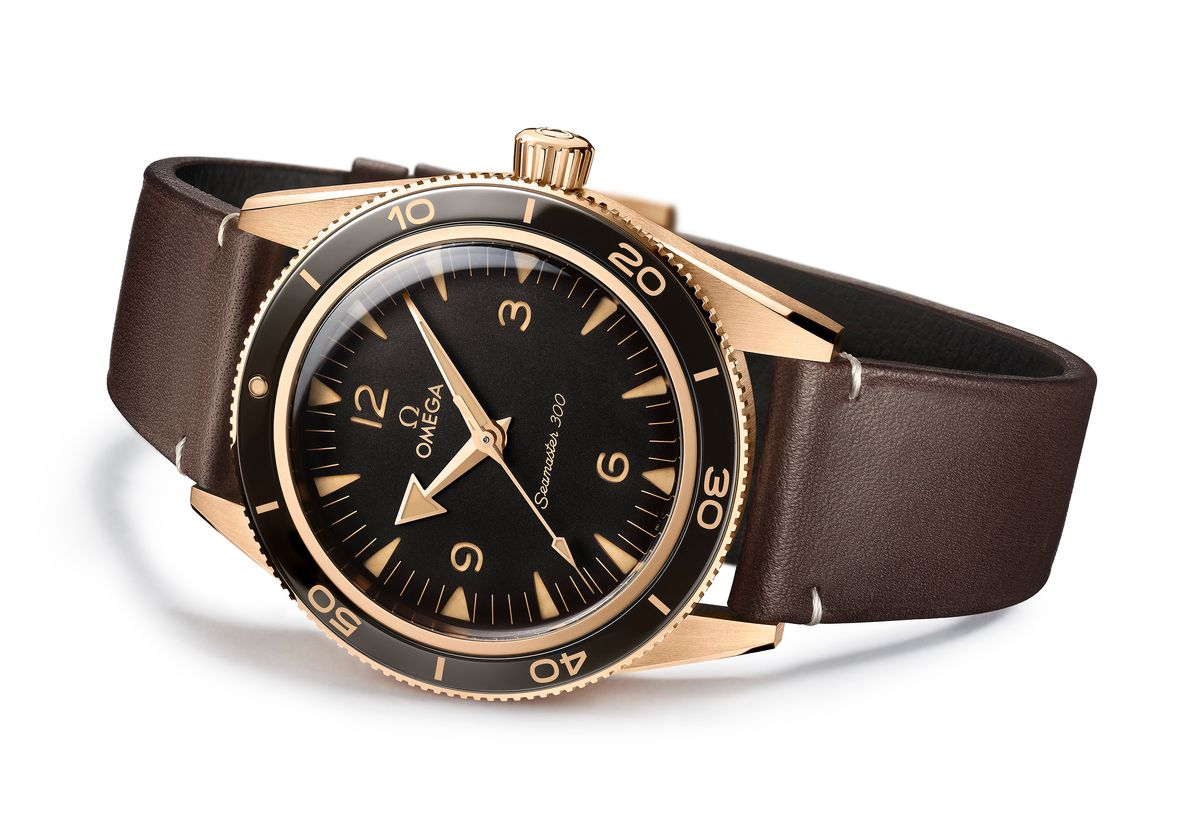 Omega Seamaster 300 Bronze Gold Edition