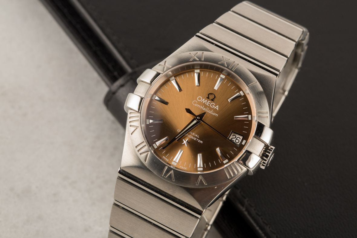 Omega ConstellationCo-Axial Chronometer Watch