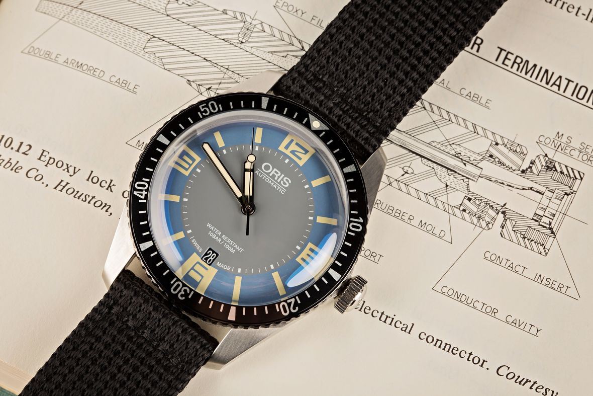 Oris Divers Sixty-Five Vintage Dial Price