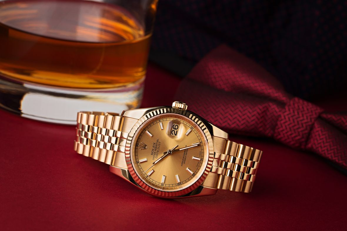 Rolex 116238 Datejust 36 Yellow Gold