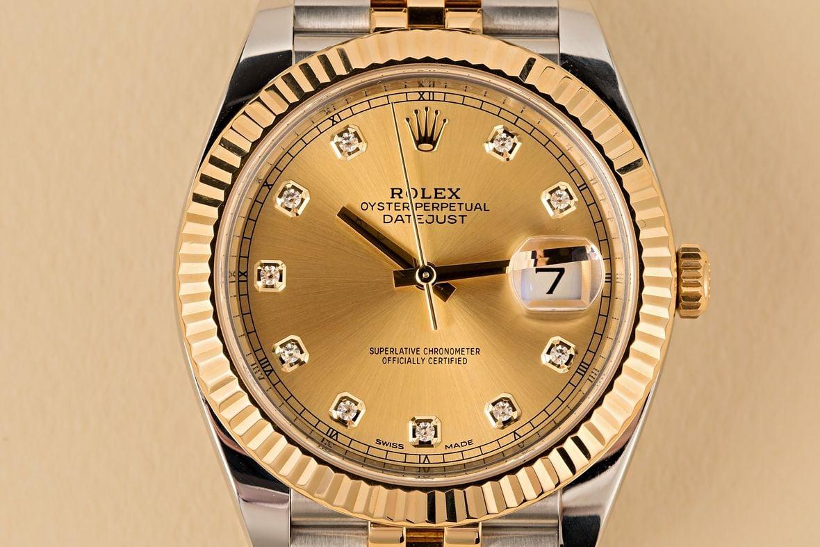 Diamond Rolex 126333 Datejust 41