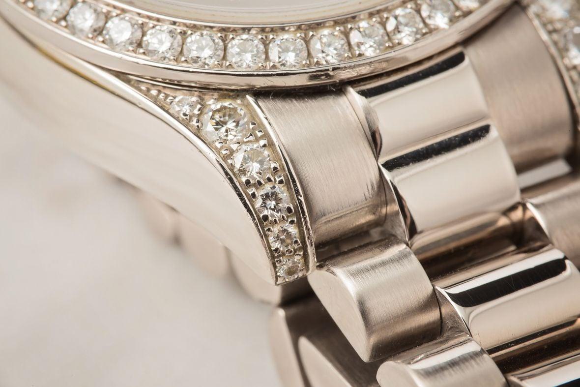 Diamond Rolex Case Lugs Bezel