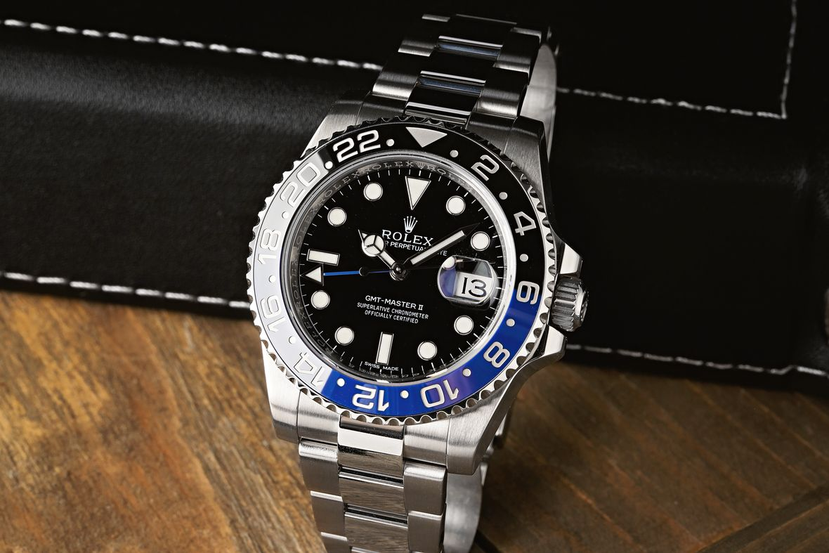 Rolex GMT-Master II 116710BLNR Batman Oyster Bracelet