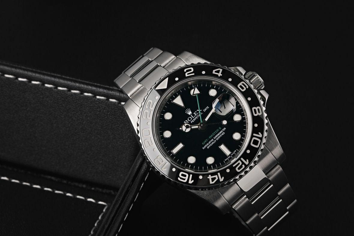 Rolex GMT-Master II 116710LN Black Bezel