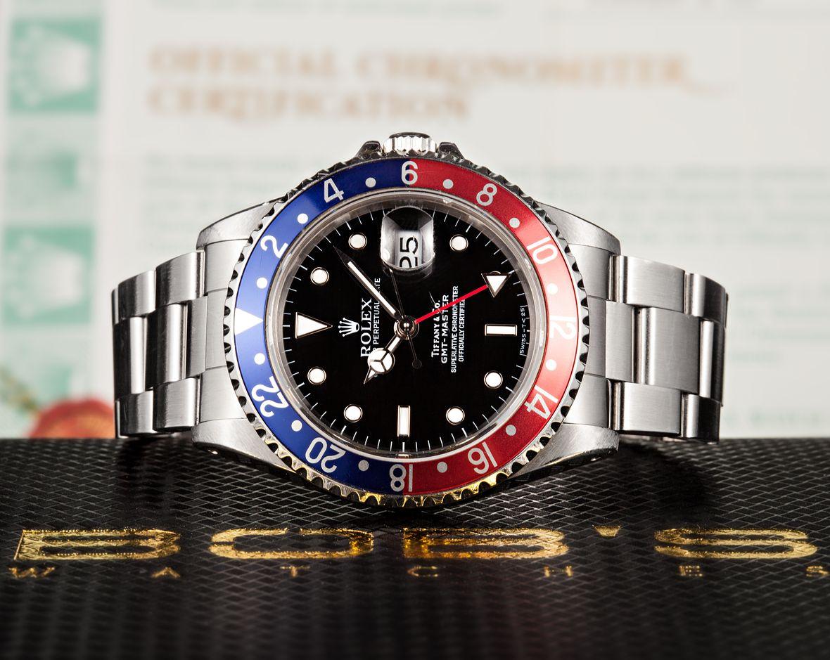 Rolex GMT-Master 16700 Tiffany Dial