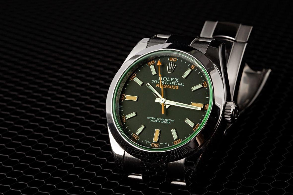 Green Rolex Milgauss 116400GV
