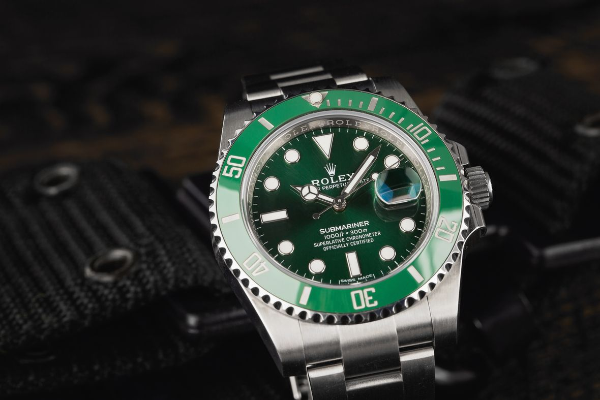 Green Rolex Submariner Hulk 116610LV