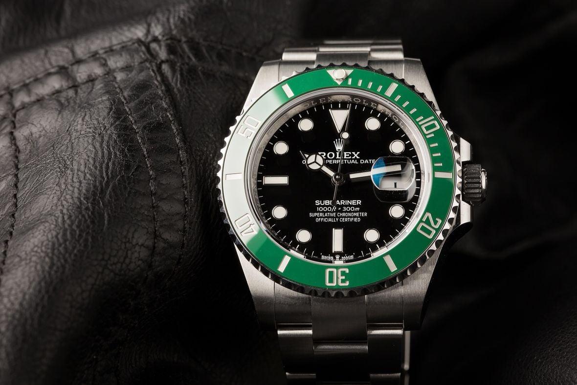 Green Rolex Submariner 126610LV