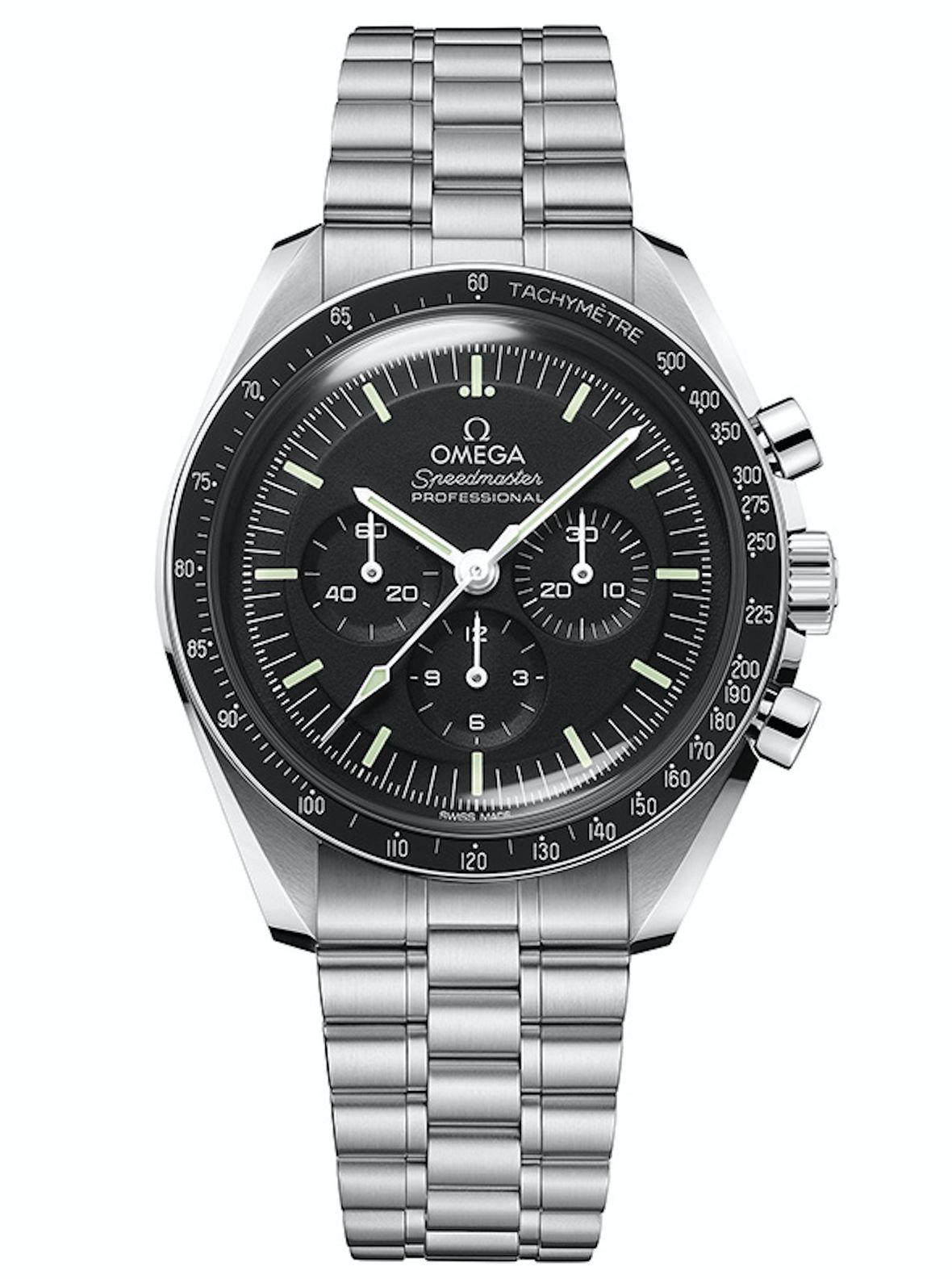 Golden Globe Awards Omega Speedmaster Moonwatch Master Chronometer Hesalite Sacha Baron Cohen