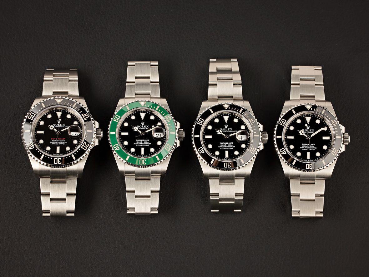 Luxury Sports Watches Rolex Dive Models