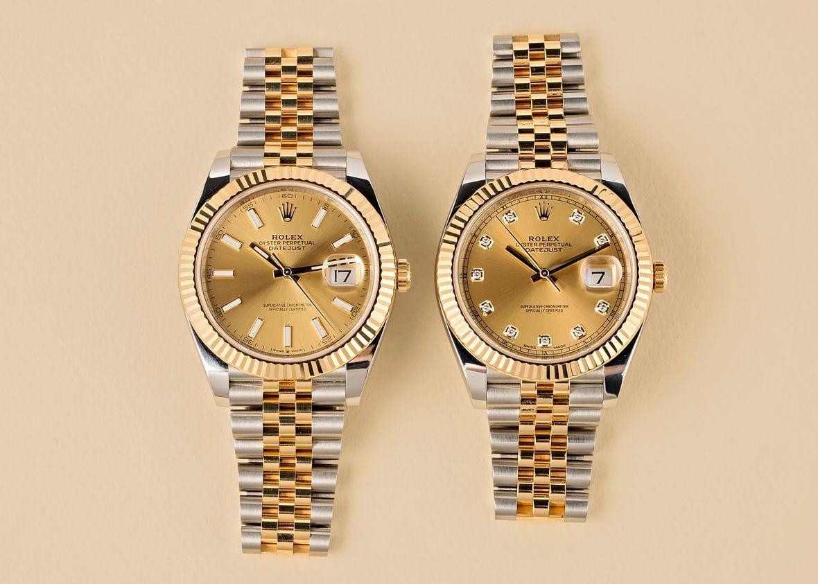 Rolex 126333 Datejust Jubilee Bracelet 41mm Two-Tone