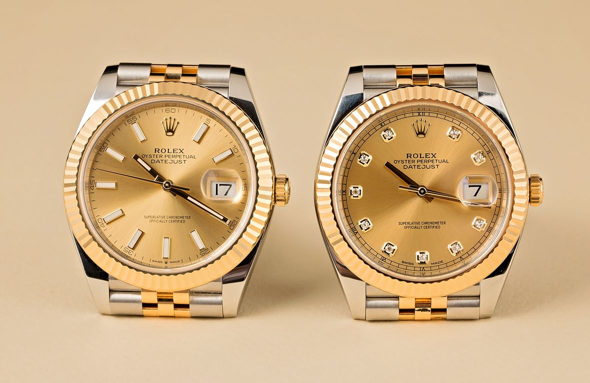 two-tone Rolex Datejust 41mm reference 126333