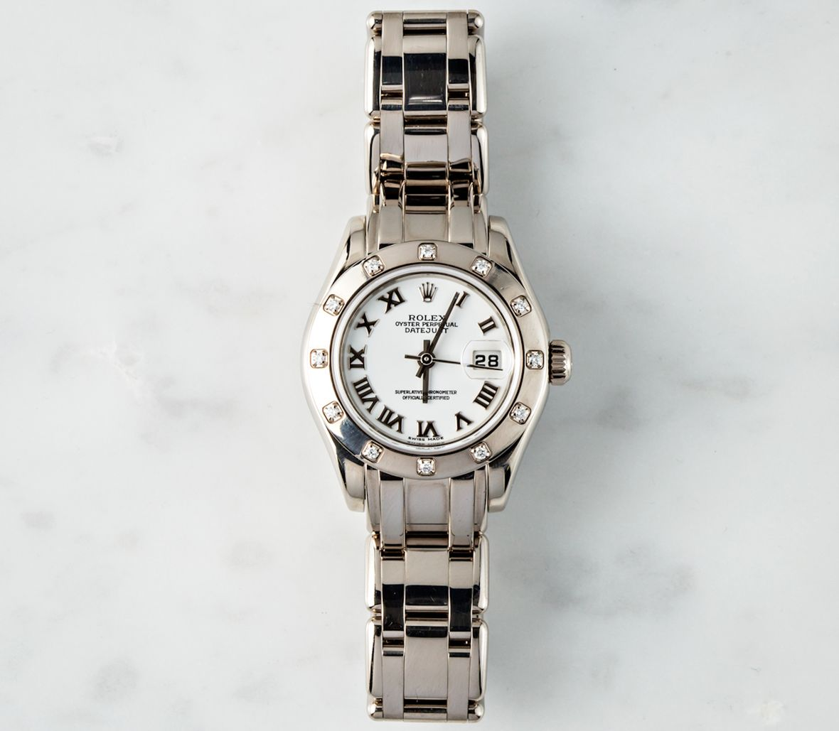 Ladies Rolex Pearlmaster