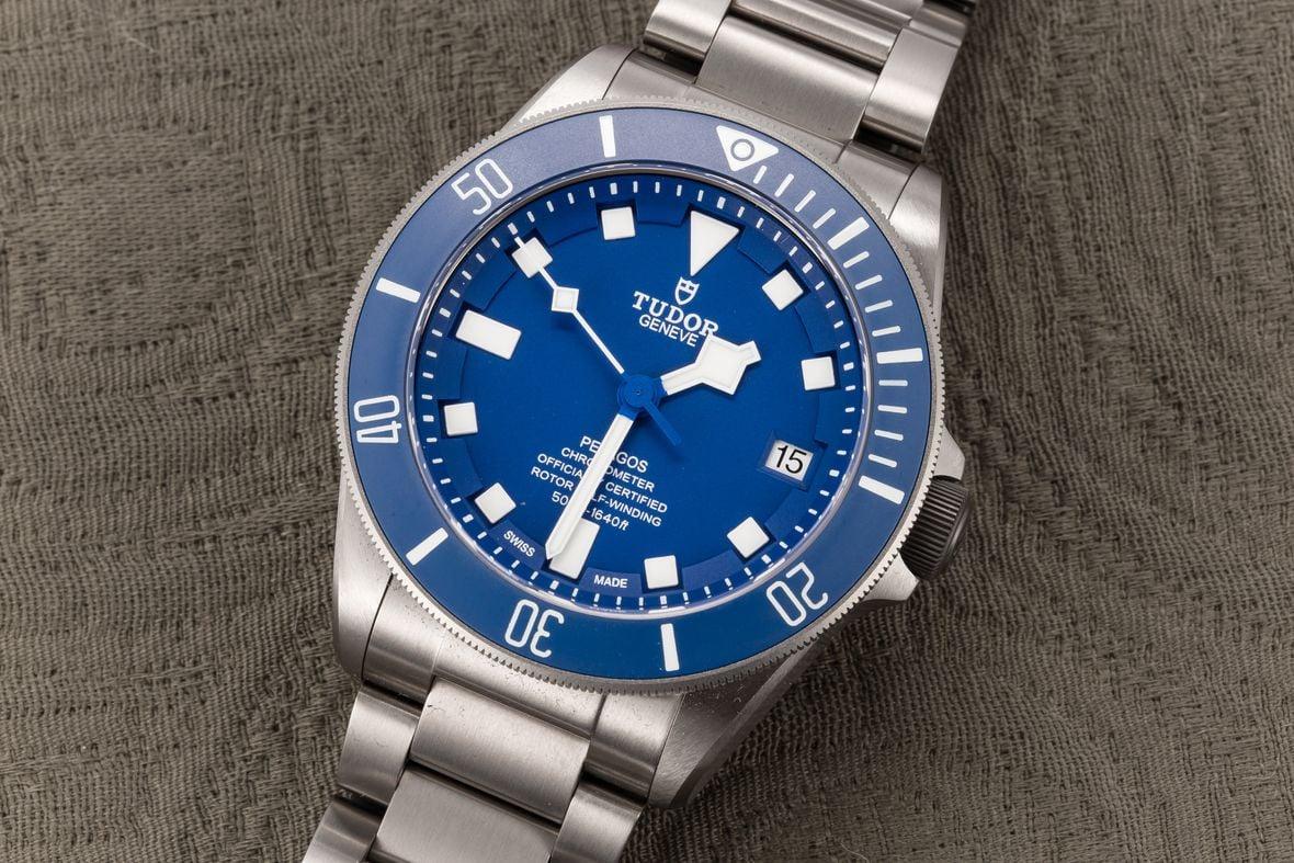 Tudor Pelagos Guide Titanium Blue Dial
