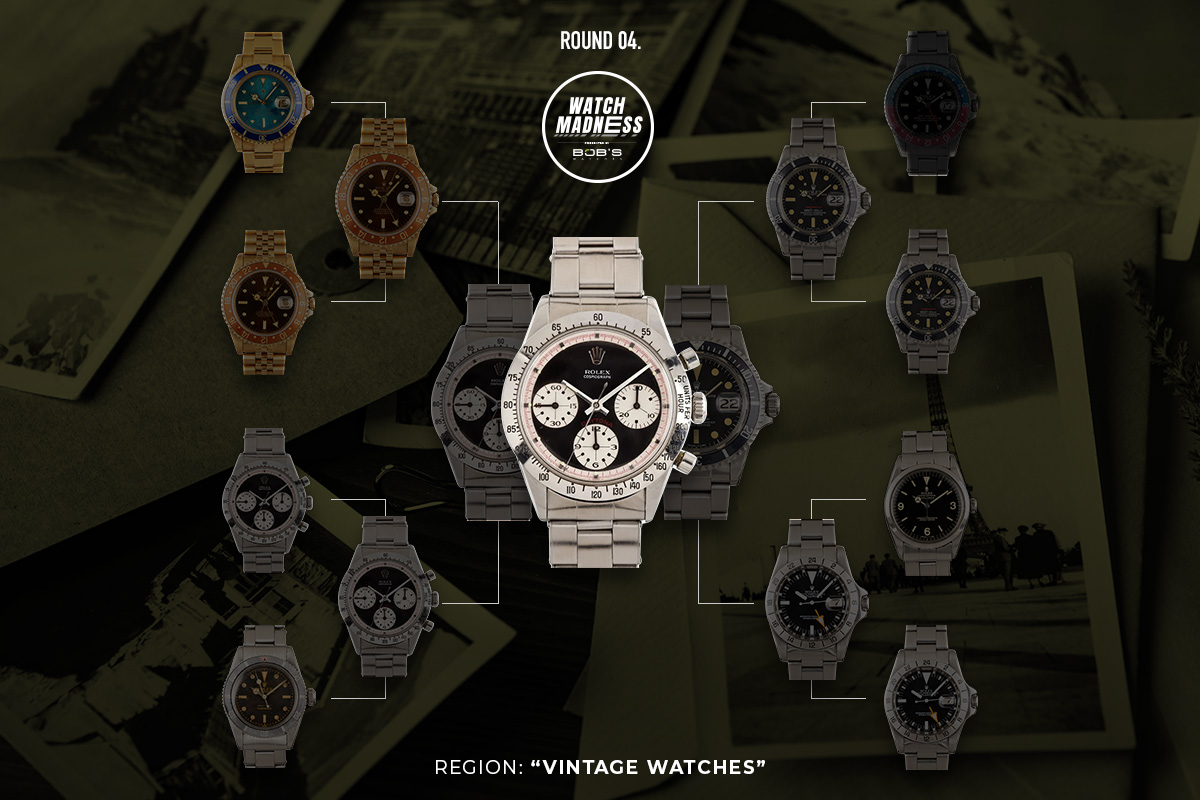 Watch Madness Vintage Watches Bracket