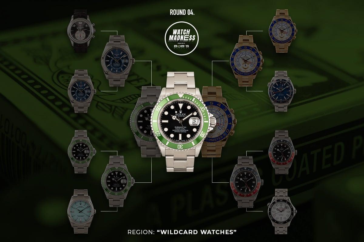 Watch Madness Wildcard Watches Bracket