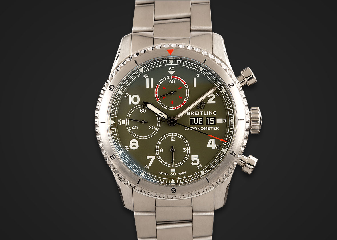 Breitling Watches Aviator 8 Chronograph