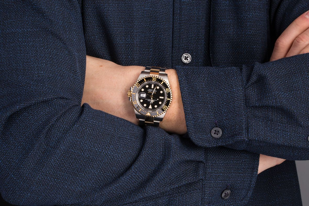 Rolex Sea-Dweller Two-Tone Steel and Gold 126603 43mm