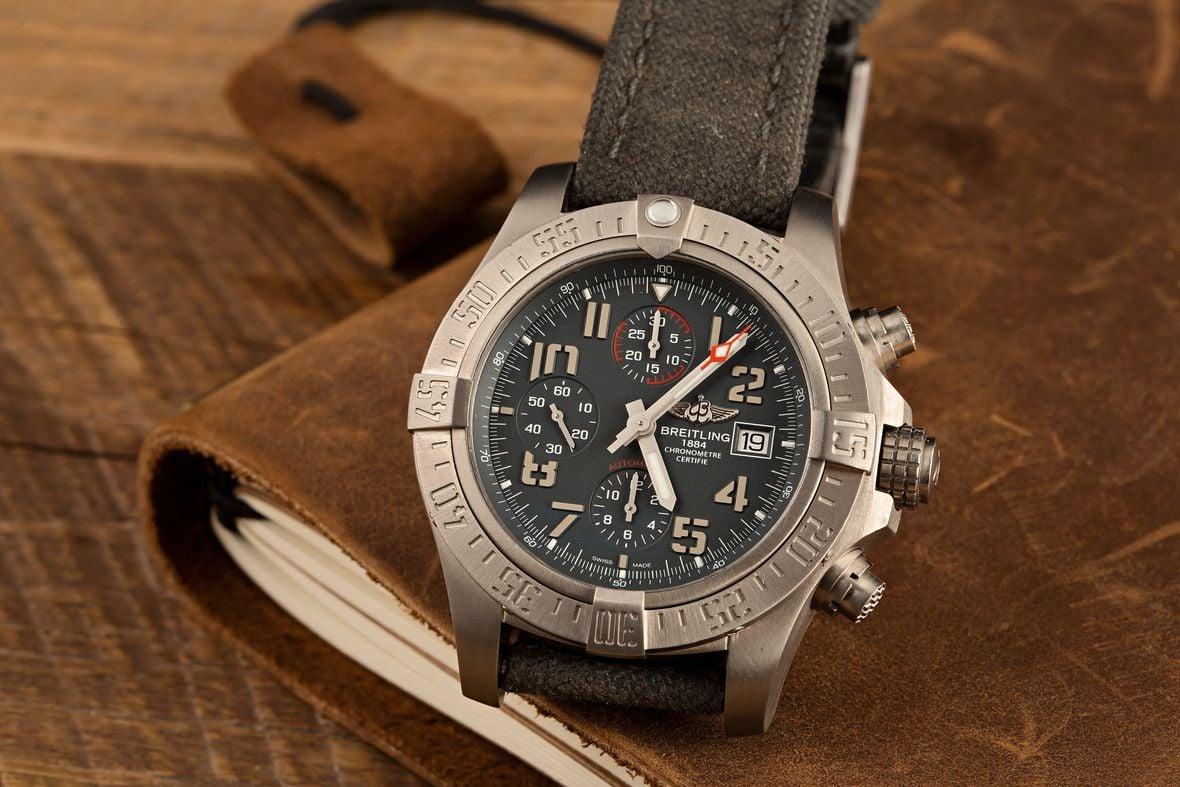 Breitling Watch Avenger Chronograph Titanium