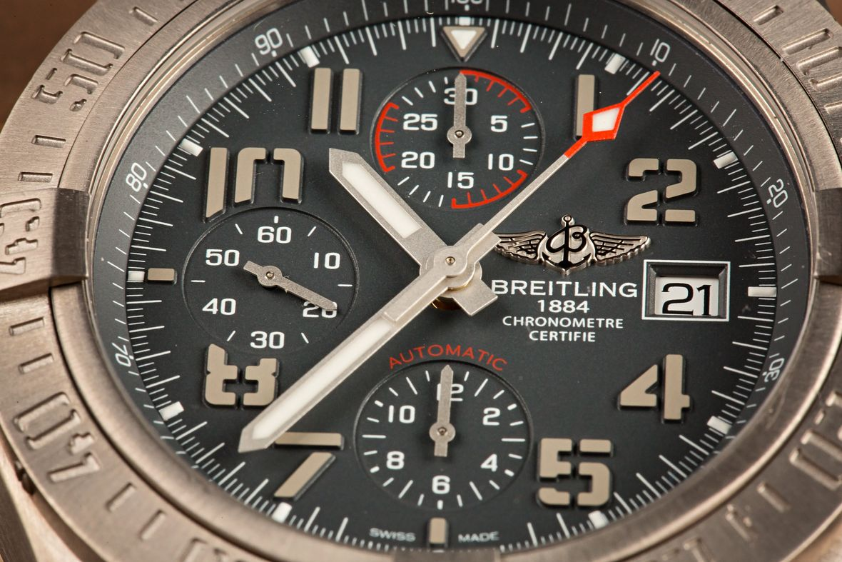 Breitling Watches Avenger Titanium Chronograph
