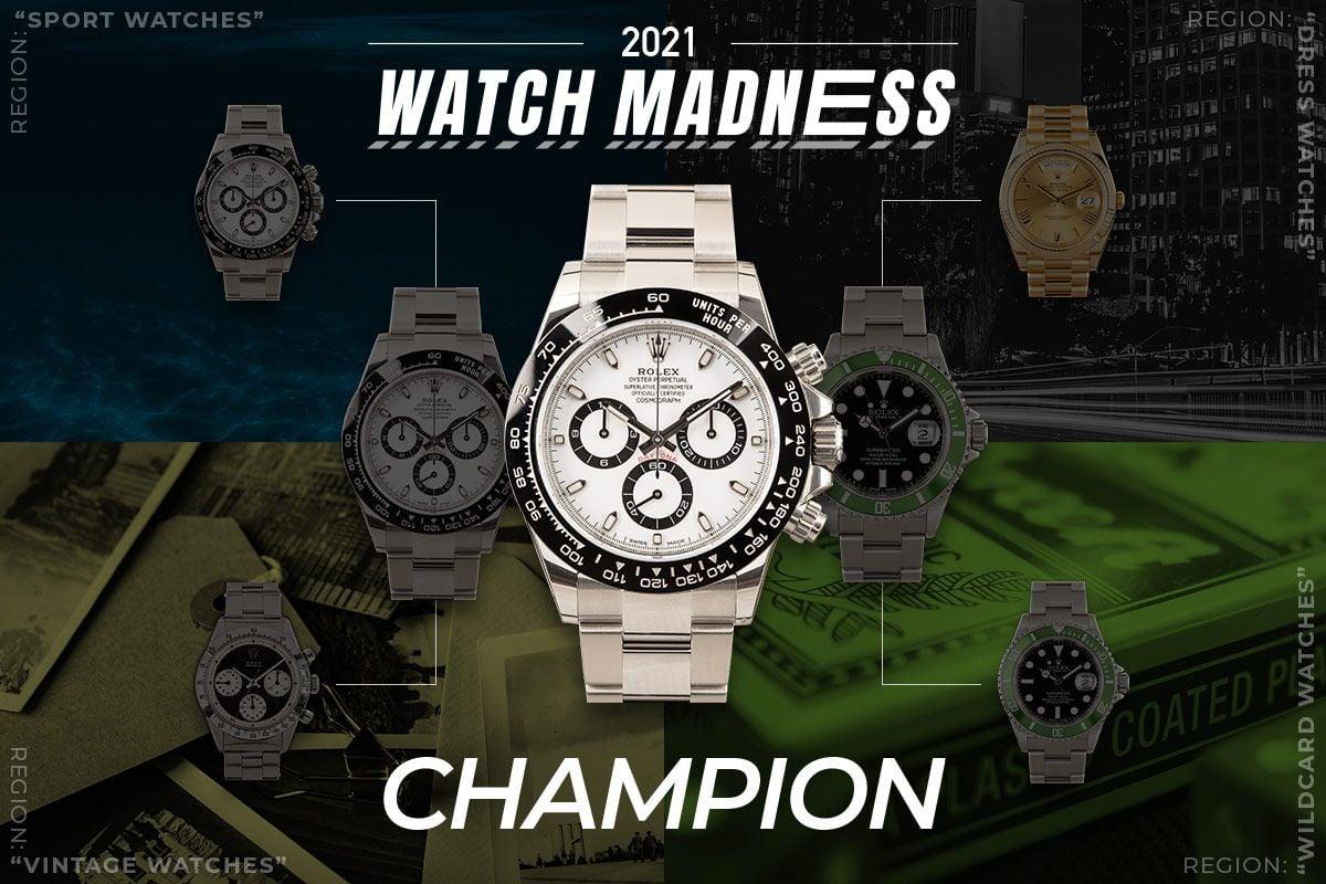 Watch Madness Champion Rolex Daytona 116500LN