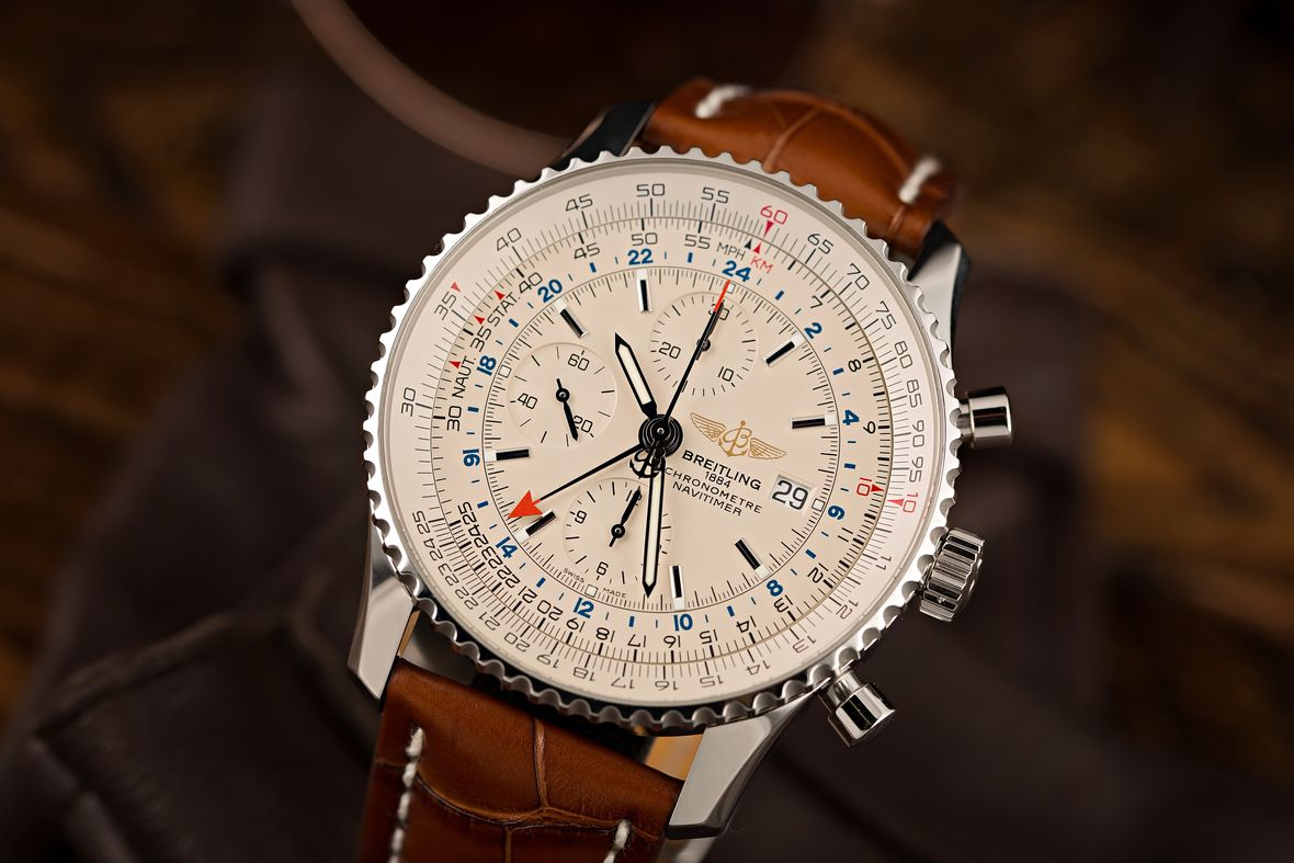 Breitling Watches Navitimer GMT