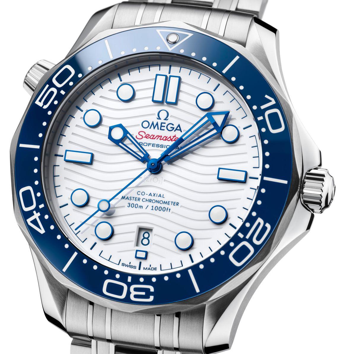 Omega Seamaster Tokyo 2020 Edition Diver 300M Olympics 522.30.42.20.04.001 Blue Bezel