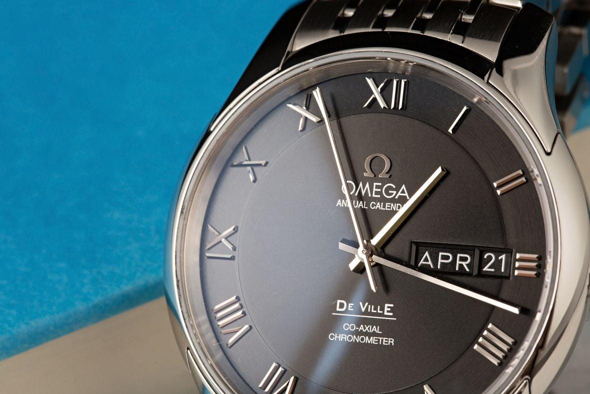 Omega De Ville Annual Calendar Wristwatch