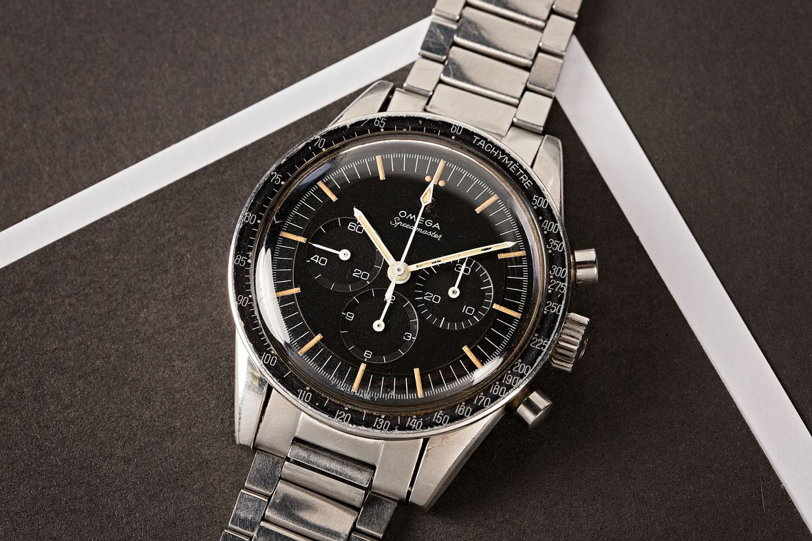 Vintage Omega Watch Speedmaster Ed White