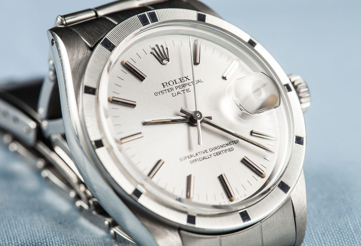 Vintage Rolex Date Stainless Steel