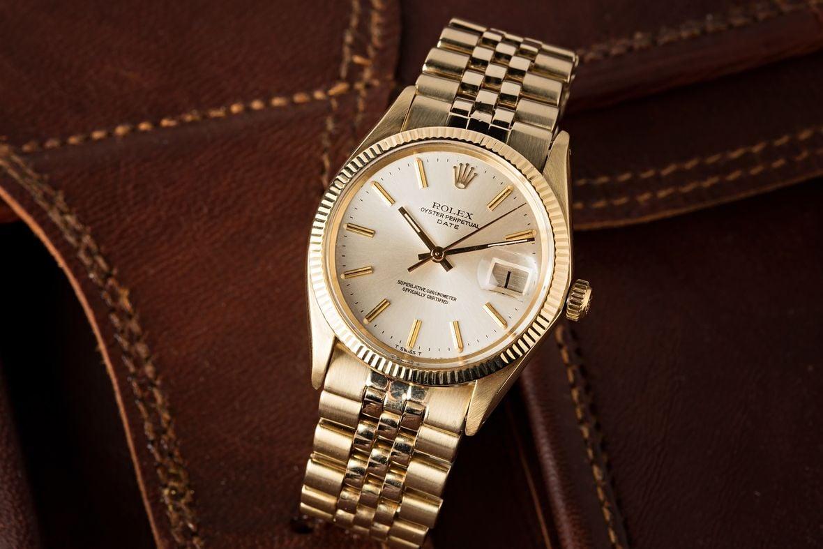 Vintage Rolex Date Jubilee Bracelet