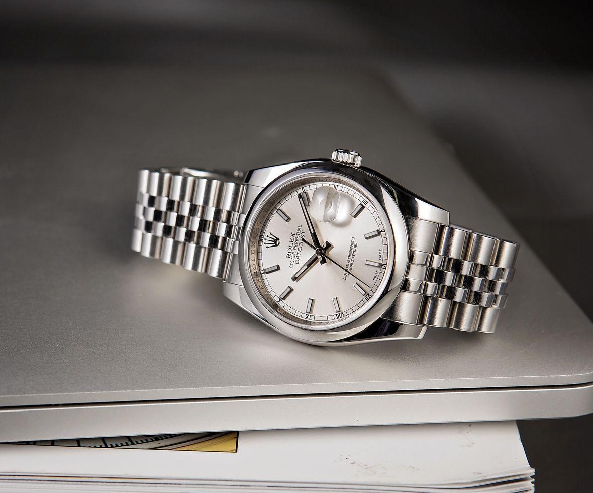 Rolex 116200 Datejust Jubilee Bracelet Stainless Steel 36mm