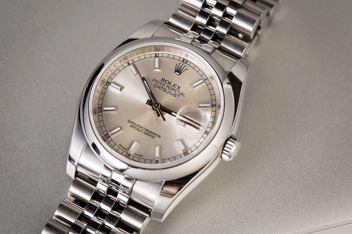 Rolex 116200 Datejust 36 Stainless Steel