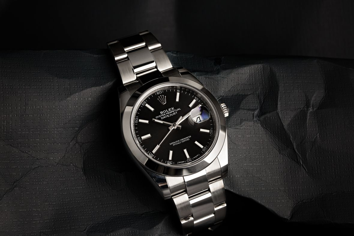 Rolex Datejust II Stainless Steel Black Dial 116300