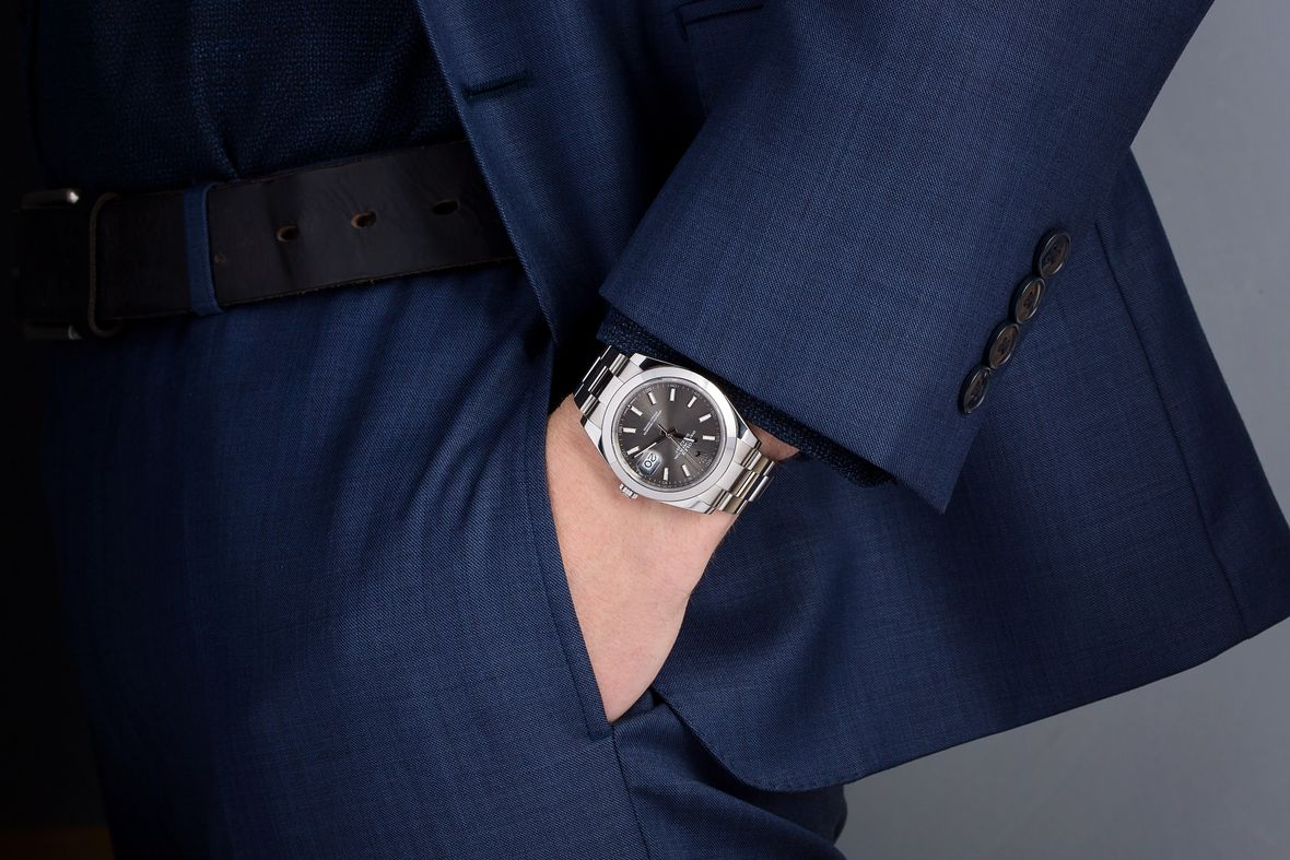 Rolex 126300 Datejust 41 Stainless Steel Slate Dial